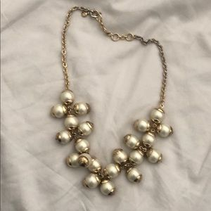 Jcrew chunky pearl necklace